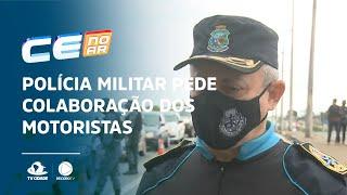 Polícia Militar pede colaboração dos motoristas nas barreiras