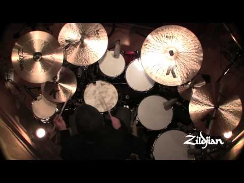 "Zildjian K Custom 20"" Left Side Ride with 3 rivets Cymbal"