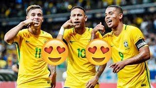 Đường đến nước Nga | Dàn sao Brazil thế hệ mới quyết tâm chinh phục World Cup 2018