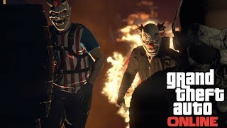 GTA 5 The Purge Halloween | CAR MEET CINEMATIC