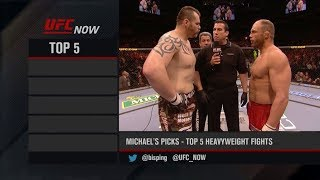 UFC Now: Top 5 Heavyweight Fights
