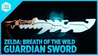3D Printing Zelda: Breath of the Wild – Guardian Sword++ #3DPrinting #Adafruit #Nintendo