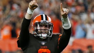 Baker Mayfield's Debut REACTION, HIGHLIGHTS & STATS! Is He the Real Deal?! Playoffs?!