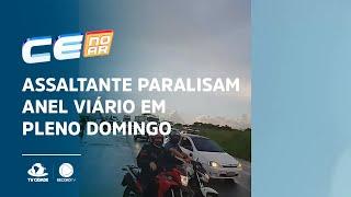 Assaltante paralisam Anel Viário em pleno domingo