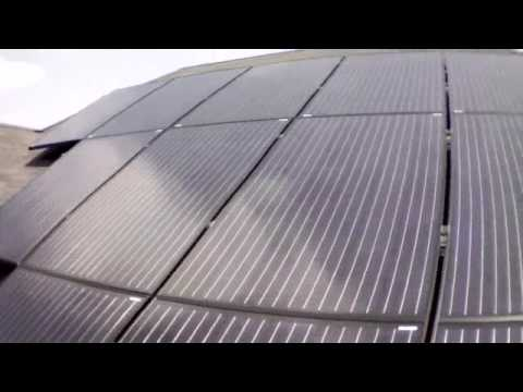 Cool Video! Home Solar Panel lnstallation (Aeriel View)