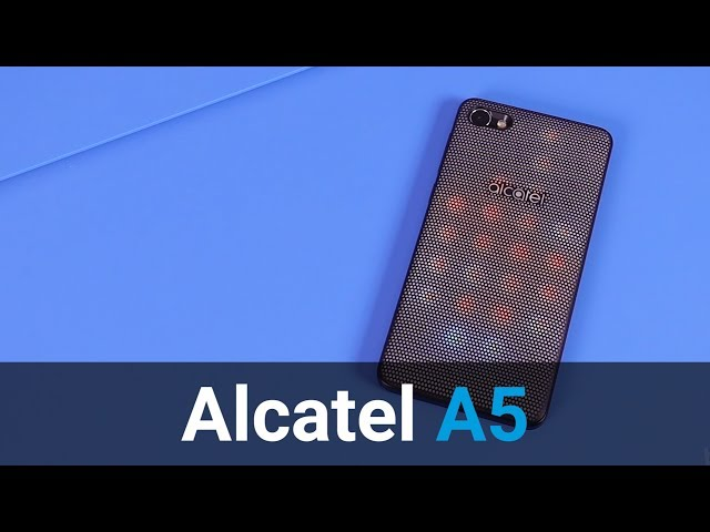 Belsimpel.nl-productvideo voor de Alcatel A5 LED Silver