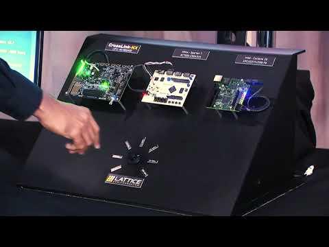 Lattice CrossLink-NX FPGA: Power Efficiency Demo