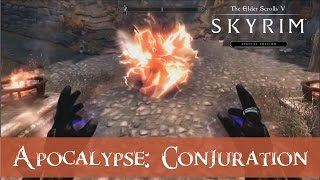Skyrim Special Edition - Conjuring 20+ new creatures! - Conjuration spells from Apocalypse mod