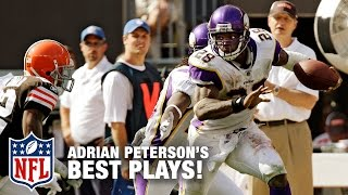 Adrian Peterson's Dominant Career Highlights   NFL