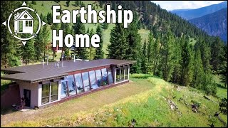 Brilliant EARTHSHIP Home Makes Off-Grid Life Look Easy!