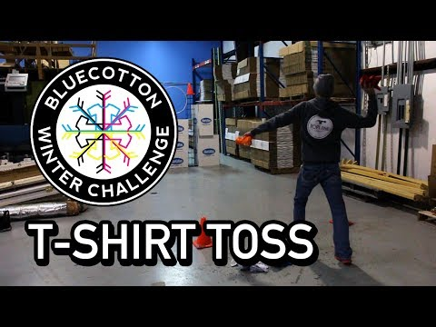 T-Shirt Toss Competition - BlueCotton Winter Challenge 2014