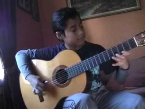 Clases de guitarra - vals peruano Cruz de Chalpón