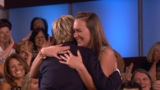 A Big Fan Meets Ellen