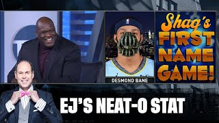 Shaq's First Name Game | EJ's Neat-O Stat