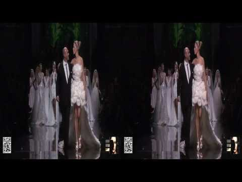 3D PRONOVIAS 2013 @ Barcelona Bridal Week with Karolina Kurkova by 3DLAB