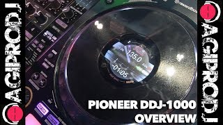 New Pioneer DDJ 1000 Overview