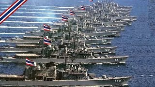 Royal Thai Navy Fleet and Aircrafts - 2019