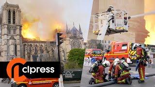 Notre-Dame : ravagée par un incendie très violent (15 avril 2019, Paris) [4K]