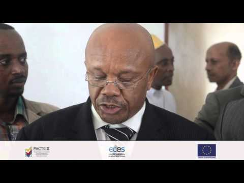 Opening of media Centre for Presidential and Governors' elections - Pacte Comoros II (FR)