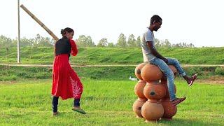 Must Watch Indian Funny😜😜Comedy Videos 2019, Ep-73 || New Funny Videos || #myfamily ||