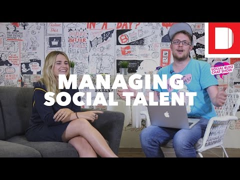 Managing Social Talent | #SMBuzzChat with Sedge Beswick