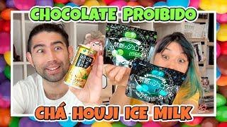 CHOCOLATE AZEDO e CHÁ COM SORVETE