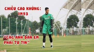 Thủ môn cao 1m93 Phan Minh Thành được đàn anh chỉ bảo phải tự tin tại U22 Việt Nam | NEXT SPORTS