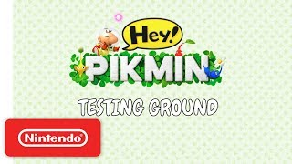 Hey! PIKMIN: Testing Ground - Nintendo 3DS