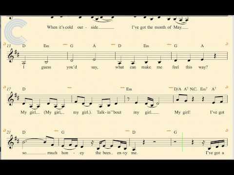 Baixar Cornet - My Girl - The Temptations - Sheet Music, Chords, & Vocals