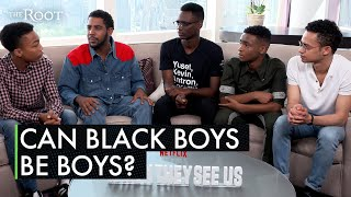 When Are Black Boys Allowed to be Boys? The Cast of 'When They See Us' Says There's Still Work to Do
