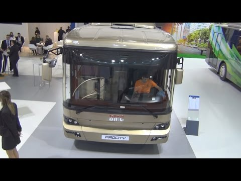BMC Procity 10 M Cummins ISB6 7E6 250B Bus (2016) Exterior and Interior in 3D
