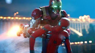 Iron Man Saves Spider-Man - Spider-Man: Homecoming (2017) Movie CLIP HD