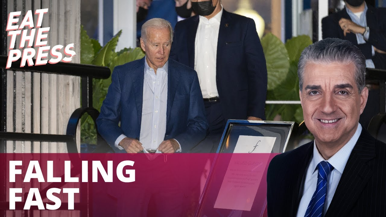 Biden Violates D.C. Mask Mandate, Approval Sinking