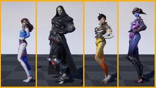 All Overwatch Characters do D.Va's secret dance!