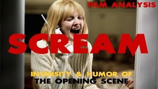 Scream Film Analysis- Intensity & Humor of The Opening Scene!!