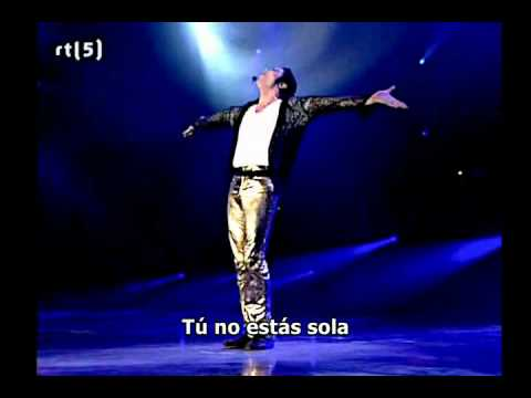 Baixar Michael Jackson - You are not alone Live HD (Subtitulado español) HQ