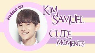 [Produce 101] Kim Samuel cute moments