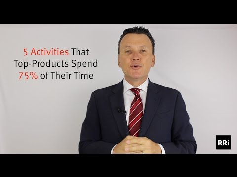 The Top 5 Activities Where Top Producers Spend 75% of Their Time
