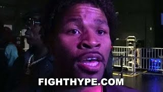SHAWN PORTER REACTS TO MIKEY GARCIA BULKING UP; EXPLAINS WHY HE'S DOING RIGHT THINGS FOR SPENCE