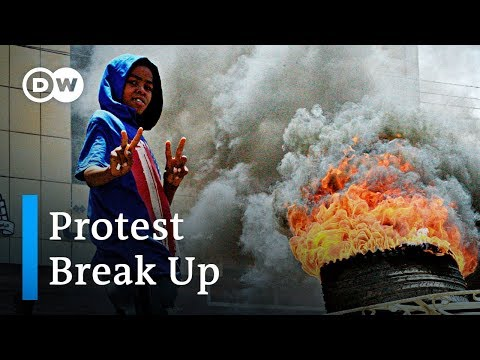 Sudan government breaks up protests, killing 9 | DW News