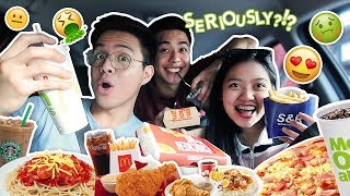 Letting The Person In Front Of Me Decide What I Eat + Mukbang | Lance De Ocampo