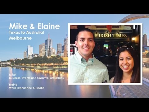 Mike and Elaine: From Texas to Australia