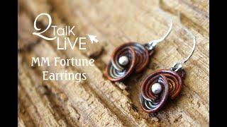 QTalk Live Week 6 Fortune Earrings