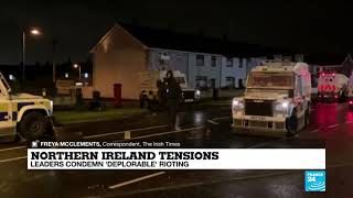 Northern Ireland: violence flares in Belfast amid Brexit fallout