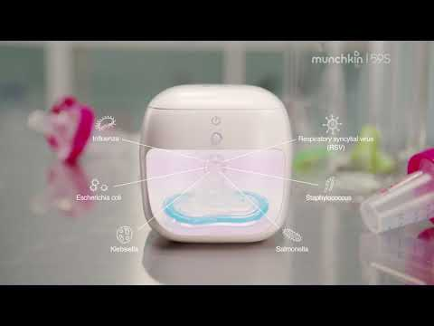 """To demonstrate the efficacy of the Munchkin 59S Mini Sterilizer, Munchkin recently collaborated with """"Kate the Chemist,"""" Dr. Kate Biberdorf, a popular science communicator, author and Associate Professor of Instruction in Chemistry at the University of Texas at Austin."""