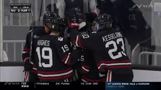 2020 Beanpot Semifinals: Northeastern vs. Harvard Highlights