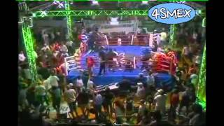 Riot After the Boxing Match in Argentina ( Casimero vs Lazarte )