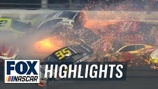Massive Daytona 500 crash takes out 21 cars in 'The Big One' | 2019 DAYTONA 500