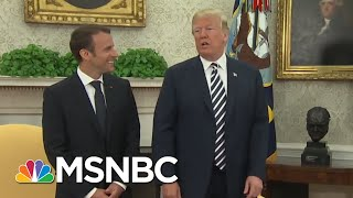 Flight Records Contradict President Donald Trump Moscow Story | The Last Word | MSNBC