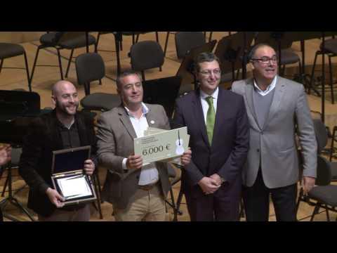 Entrega de premis Secció Salvador Giner I CONCURS BANKIA D'ORQUESTRES DE LA COMUNITAT VALENCIANA